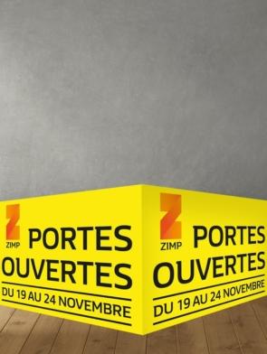 panneau alvéolaire double 120 x 40 cm avec rainurage