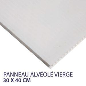 panneau akilux vierge 30 x 40 cm