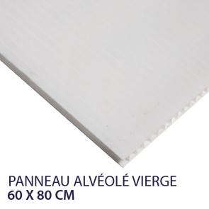 panneau alvéolaire vierge 60 x 80 cm