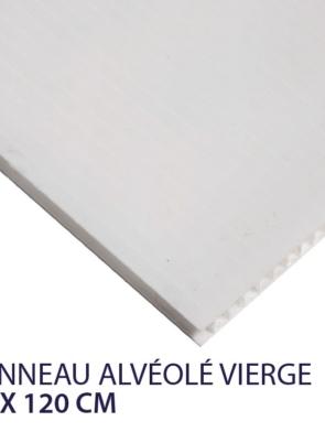 panneau alvéolaire vierge 80 x 120 cm